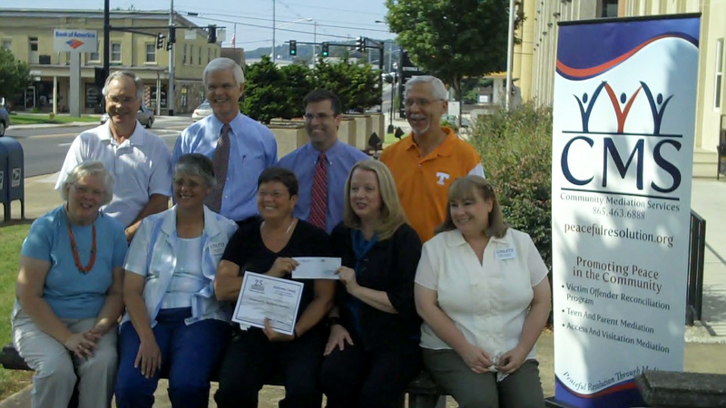 Community Mediation Services Award from East Tennessee Foundation